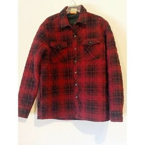 VTG Hawke & Co Flannel Jacket Shacket Plaid Medium